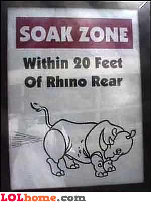 Soak zone