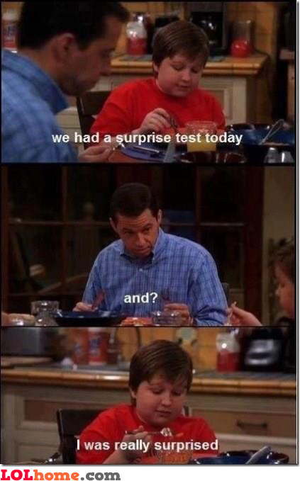 Surprise test