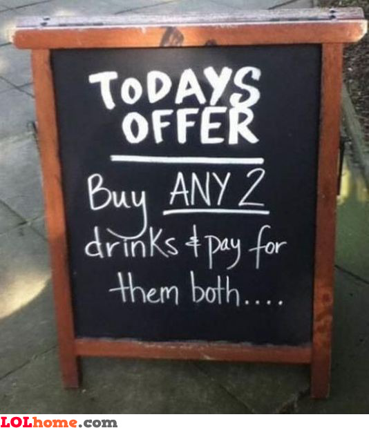 Buy 2, pay for 2