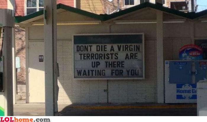 Don't die a virgin