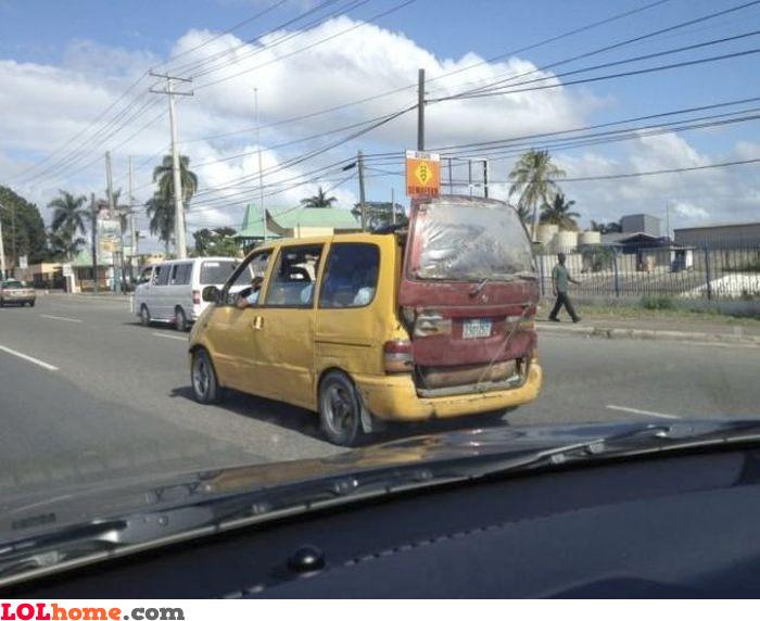 Fixed minivan