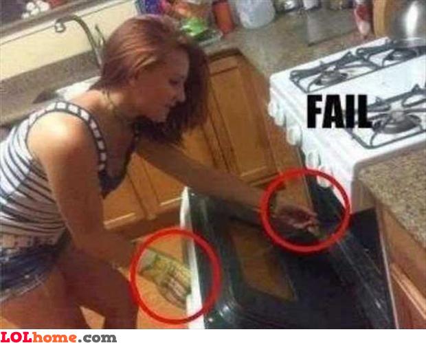 Cooking fail