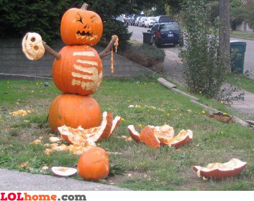 Enraged pumpkin