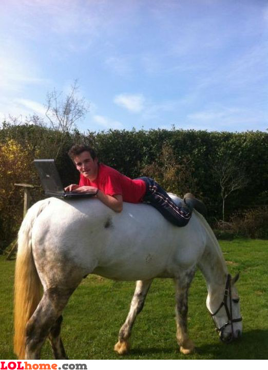Horseback programming