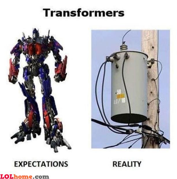 Transformer reality