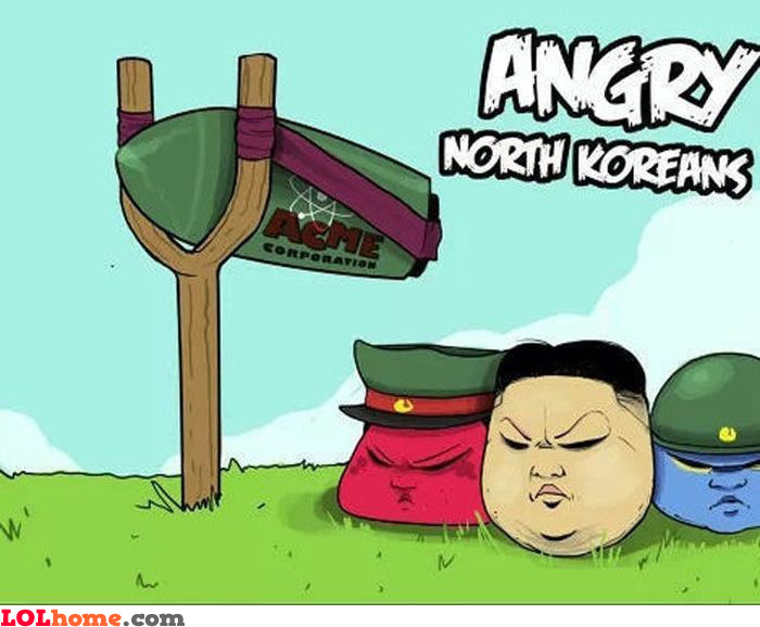 Angry North Koreans