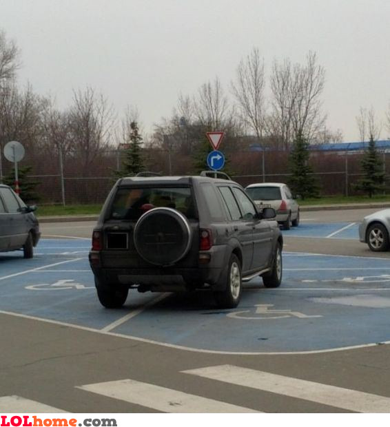 Extremely handicapped