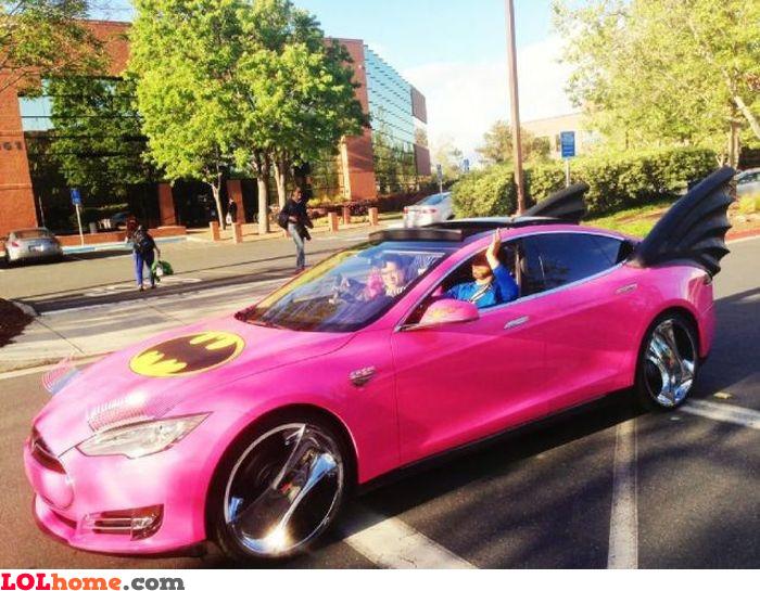 Batgirl's car