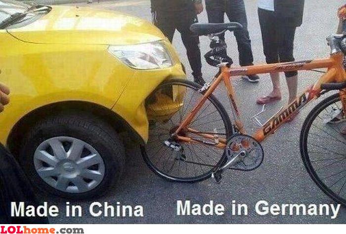 China versus Germany