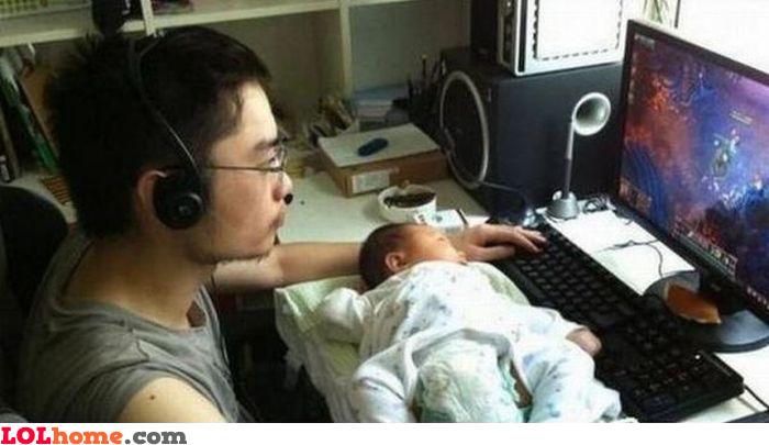 Parent gamer