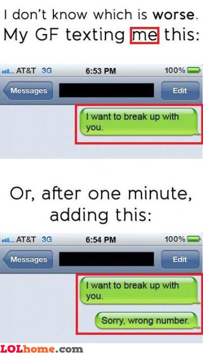 Girlfriend problems