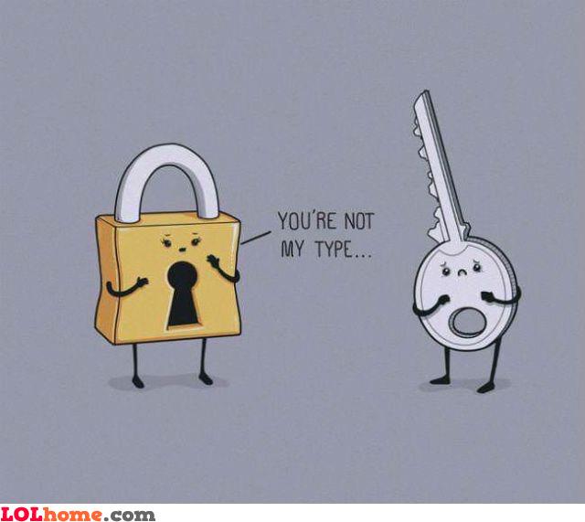Not my type