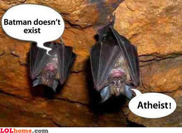 Atheist bat