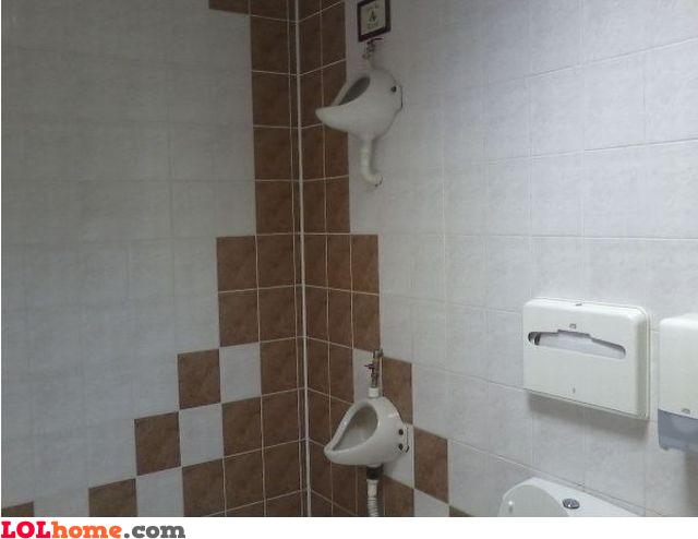 Spiderman's urinal