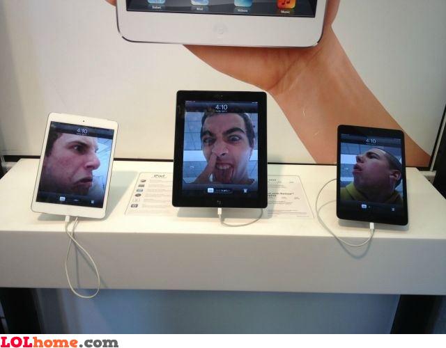 Apple store activities